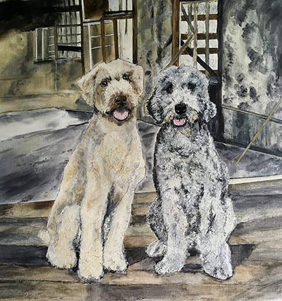 Benji and Taffy